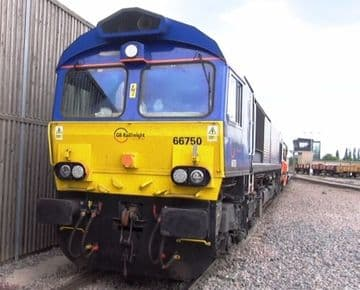 64. –Wansford on the Nene Valley Line to Peterborough & Whitemoor Yard (March)