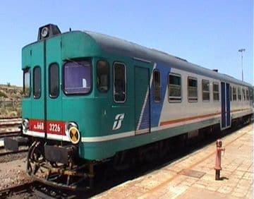 Trains in Sardinia