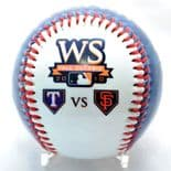 2010 World Series Texas Rangers v San Francisco Giants Commemorative Rawlings Baseball