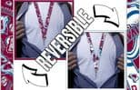 Colorado Avalanche Lanyard, Reversible with Velcro Neck Release