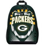 Green Bay Packers Backpack, Lightning Style