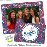 Los Angeles Dodgers 4x6 inch Magnetic Picture Frame with Bonus Magnet