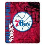 Philadelphia 76ers Fleece Throw Blanket