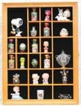 Thimbles & Miniatures Display Case, 22 openings