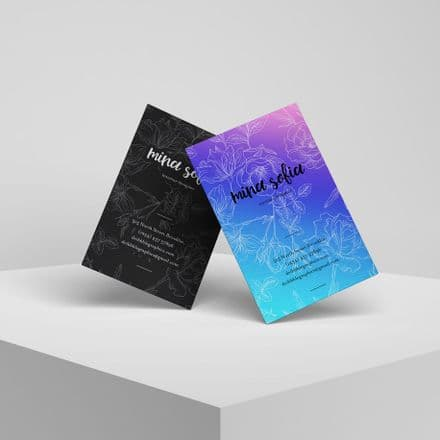 Business Cards with Gloss Lamination