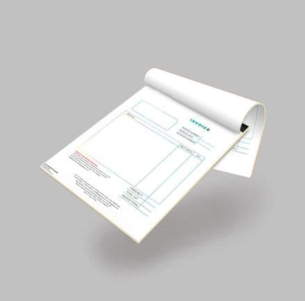 NCR Pads (Glued) - One Color Printing
