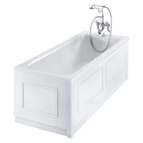 Burlington Traditional White 2 Piece adjustable Bath Panels