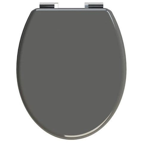 Gloss Anthracite Toilet Seat