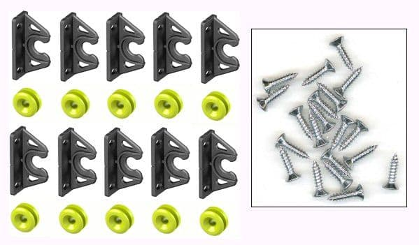 Hidden Bath Panel Easy Fit and Removal Complete Kit inc Marine Grade Screws