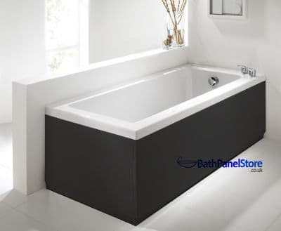 Matt Black Extra Height Bath Panels