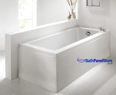 White Ash 1 Piece Bath Panels