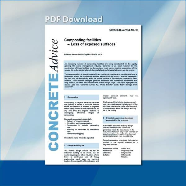 Composting facilities - Loss of exposed surfaces. PDF