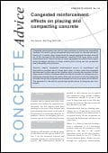 Congested reinforcement:effects on placing and compacting concrete. PDF