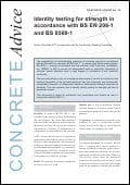Identity testing for strength in accordance with BS EN 206-1 and BS 8500-1. PDF