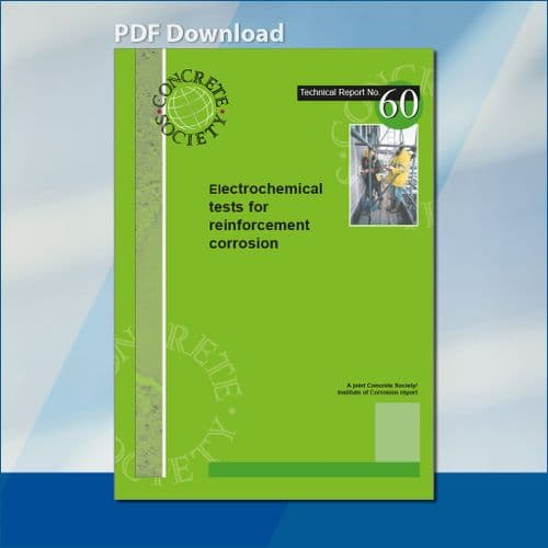 TR60 Electrochemical tests for reinforcement corrosion PDF