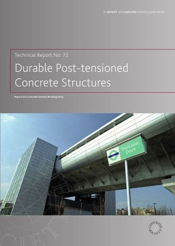 TR72 Durable post-tensioned concrete structures