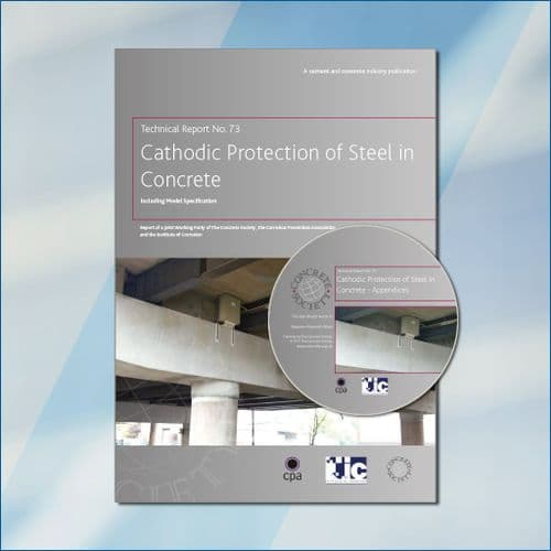 TR73 Cathodic protection of steel in concrete, including model specification