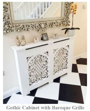Gothic Style Radiator Cover