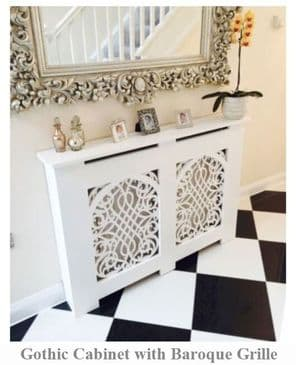 Made to Measure Radiator Cover - Extra Height - Extra Tall - 90cm+ - Deep