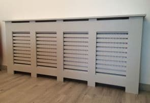 XXXL Huge Radiator Cabinet/Cover - Extra Large/Very Wide - Made in the UK!