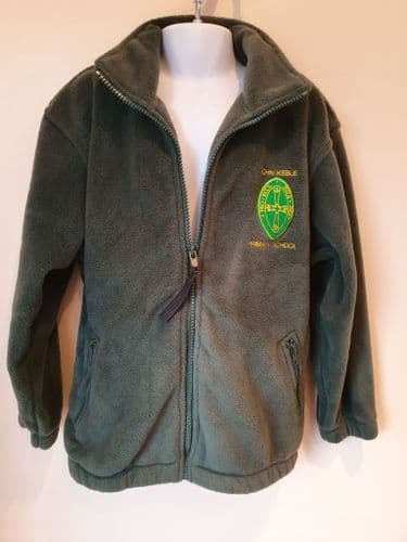 FLEECE JACKET---WINTER-JohnKeble school