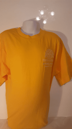 P E T SHIRT-YELLOW-PATIENCE HOUSE (Mitchell Brook)