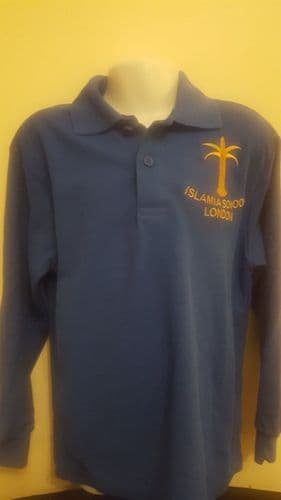 PE TOP/ BLUE/ISLAMIA PRIMARY ..LONG SLEEVE