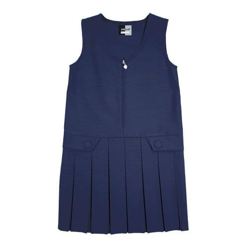 NAVY BLUE Pinafore (St. Peter's)