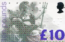 £10 Discounted GB Postage Stamp