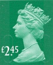 £2.45 Stamp (12% to 15% off)