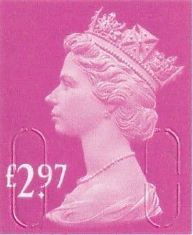 £2.97 Stamp (12% to 15% off)