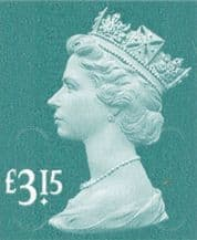 £3.15 Stamp (12% to 15% off)