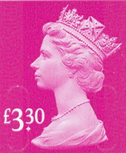 £3.30 Stamp (12% to 15% off)