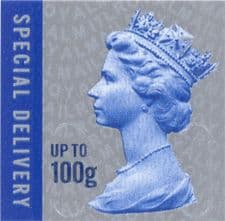 £6.85 Special (next day) Delivery Stamps up to 100 grams