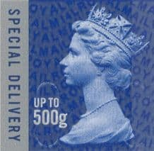 £7.65 Special (next day) Delivery Stamps up to 500 grams