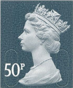 50p Discount GB Postage Stamp (mixed designs)