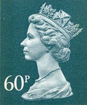 60p Discount GB Postage Stamp (mixed designs)