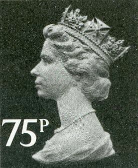 75p Discount GB Postage Stamp