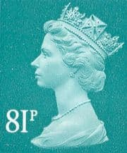 81p Discount GB Postage Stamp (mixed designs)