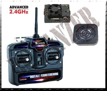 Kit complet 2.4 GHZ  JS 2