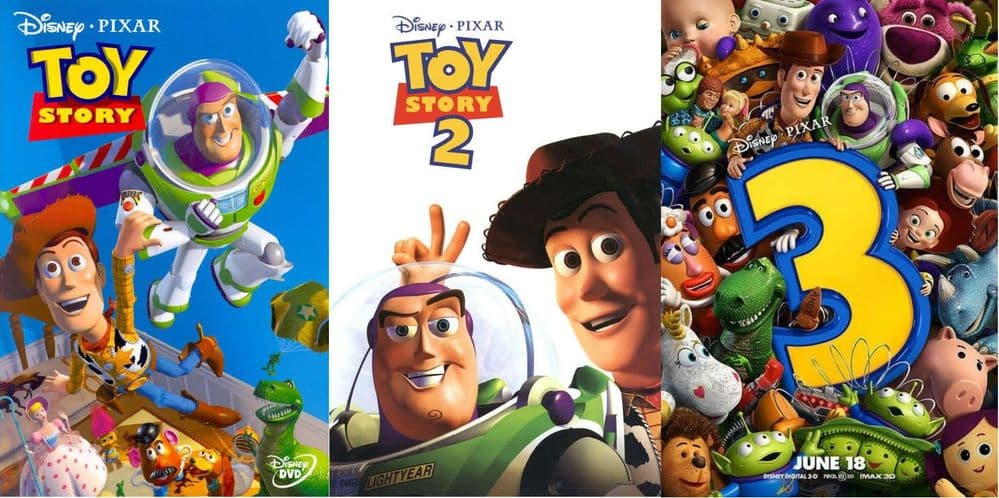 Disney PIXAR Toy Story 1-3 Complete Collection DVD 2010 Disc Set Box Set NEW