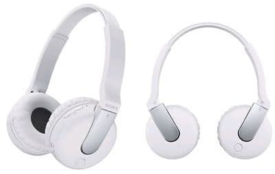 NEW SONY DR-BTN200M BLUETOOTH WIRELESS OVER EAR HEADSET HEADPHONES NFC WHITE