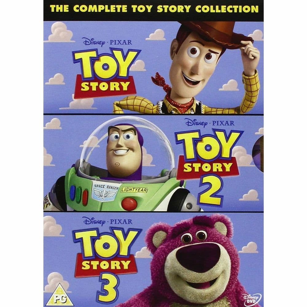 Pixar Toy Story 1-3 Complete Collection DVD 2010 Disc Set