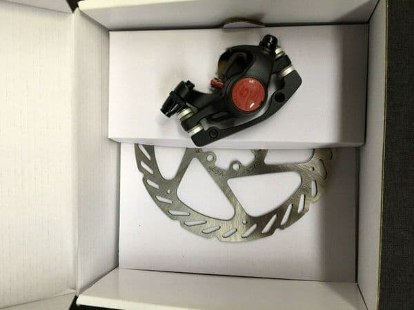 Avid BB5 MTB Disc Brake Caliper (Black) + 160 mm. G2 CleanSweep Rotor - NEW Tatty box