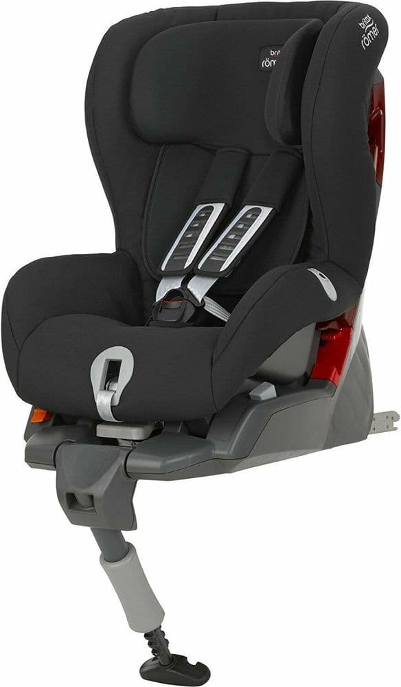 Britax Römer SAFEFIX PLUS Group 1 (9-18kg) Baby Car Seat - Cosmos Black ISOFIX BASE