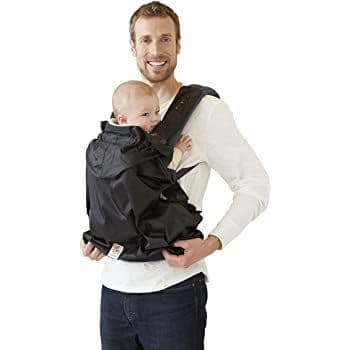 Genuine ERGObaby ERGO BABY Infant Water Resistant Carrier Rain Cover, Black
