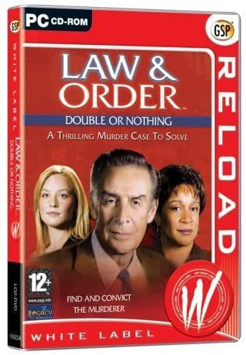 Law & Order - Double or Nothing (PC CD) A thrilling case to solve RELOAD PC CD-ROM