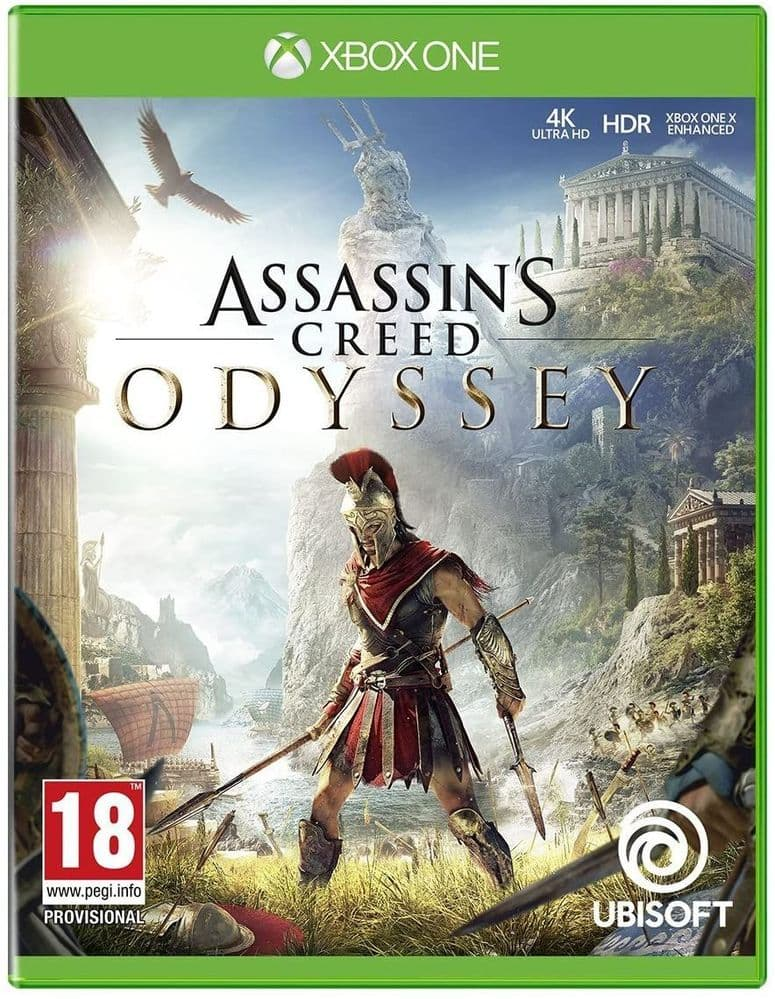 NEW Assassins Creed Odyssey Game for Xbox One 4K Ultra HD