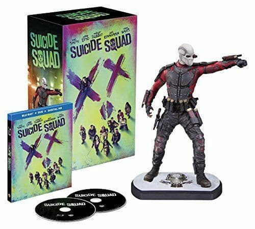 Suicide Squad Deadshot Statue Limited Edition - Blu-ray 3D + Digital Download