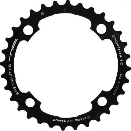 TA SPECIALITES CHINOOK10 42T 104mm. BCD - BLACK 10 Speed MTB Outer